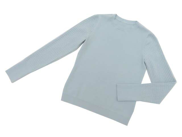 FOXEY BOUTIQUE 38835 Sweater ソフィーブルー 38 A1【中古】