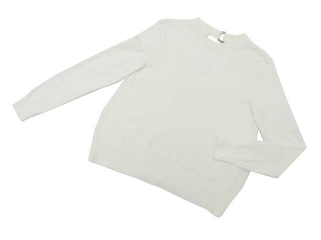 FOXEY NEW YORK COLLECTION 38221 Sweater ホワイト 38 A1【中古】