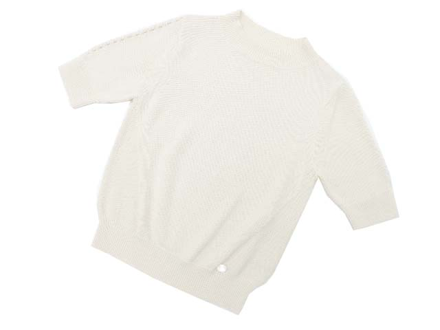FOXEY BOUTIQUE 36003 Knit Tops アイボリー 38 S2【中古】