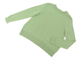 FOXEY NEW YORK COLLECTION 38221 Sweater グリーンティ 40 S2【中古】