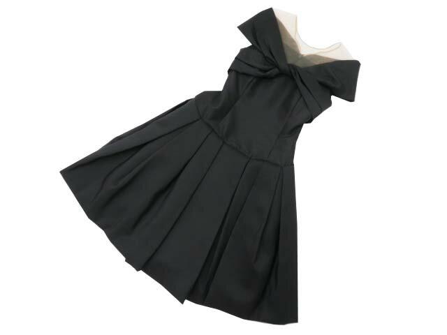 FOXEY BOUTIQUE 37051 Dress(ROMANTIC NOIR) ブラックブラック 38 S2【中古】