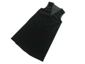 VELOUR NOIR by FOXEY NEW YORK 39317 Dress(Bijou NOIR) ベルベットブラック 42 S1【中古】