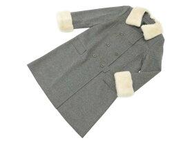 FOXEY BOUTIQUE 33594 Coat(White Snow) グレー 42 S2【中古】