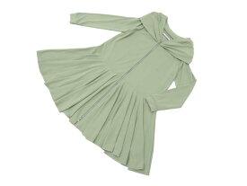FOXEY NEW YORK 39931 Dress グリーン 42 S2【中古】