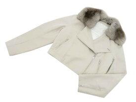 FOXEY BOUTIQUE 40079 Jacket(Macchiato) オイスターベージュ 42 S1【中古】