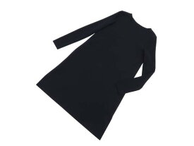 FOXEY BOUTIQUE 40389 Knit Dress ミッドナイトブルー 42 S2【中古】