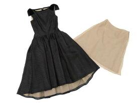 FOXEY BOUTIQUE 37522 Dress(Nocturne) ブラック 38 A1【中古】