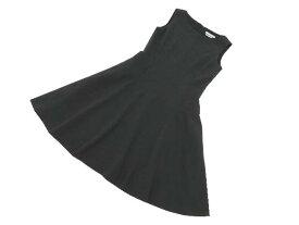 FOXEY NEW YORK COLLECTION 39235 Dress(Arabesque) チャコールグレー 40 A1【中古】