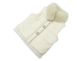 FOXEY BOUTIQUE 34685 Vest(Jewel Snow) ホワイト 38 A1美品【中古】