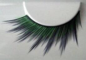 【メール便】スターラッシュFA−1 黒とグリーン のコントラストが 個性的!! つけまつげ アイラッシュ