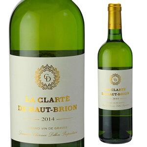 ラ クラルテ ド オー ブリオン ブラン 2017 750ml フランス ボルドー 白ワイン 長S