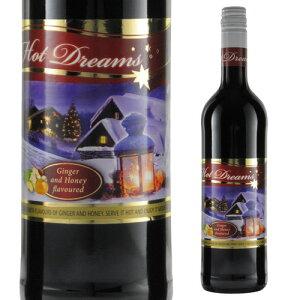 【よりどり6本以上送料無料】ホット ドリームス ホットワイン グリューワイン 長S 赤ワイン