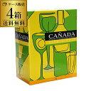 ボトル換算338円(税別) 送料無料 《箱ワイン》カニャーダ ブランコ 3Lケース (4箱入) 長S