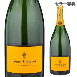 【誰でもワインP7倍 5/9 20時〜11中】ヴーヴ クリコ イエローラベル ブリュット マグナムルミナスボトル 1.5L(1500ml)VEUVE CLIQUOT BRUT シャンパン シャンパーニュ イベント 白 辛口 泡 ヴーヴクリコ