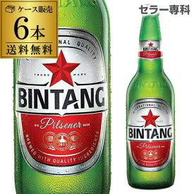 ビンタン 330ml 瓶×6本【送料無料】[アジア][輸入ビール][海外ビール][インドネシア]
