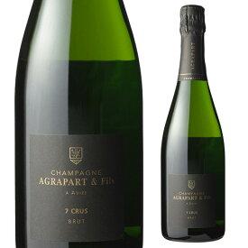 アグラパール レ セット クリュ ブリュット NV 750ml[シャンパン][シャンパーニュ][自然派ワイン][ヴァン ナチュール][ビオ ディナミ]
