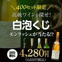 【送料無料】高級ワイン・シャンパンを探せ! 白泡くじモンラッシェが当たるかも!?【先着400セット】[ワイン 福袋][…