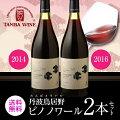 丹波鳥居野ピノノワール2014、2016年 2本セット[日本ワイン][国産 ワイン][長S] 赤ワイン