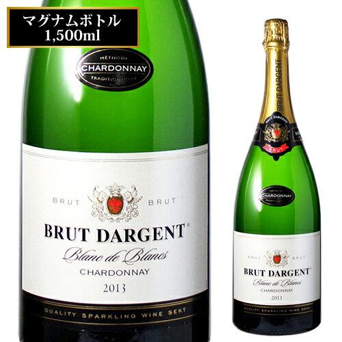 ブリュット ダルジャン ブラン ド ブランマグナムボトル 1.5L[フランス][白][辛口][泡][スパークリングワイン][Sparkling Wine][長S]