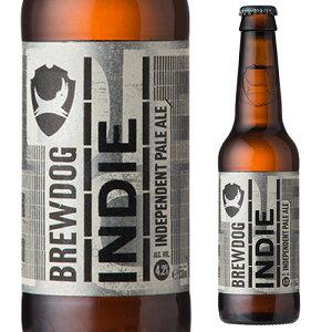 【エントリーP5倍 マラソン中】ブリュードッグ インディー ペールエール 330ml瓶スコットランド イギリス 輸入ビール 海外ビール クラフトビール 海外 ブリュードック[長S]