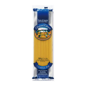 賞味期限2023/04/13 ドンナチアラ スパゲッティーニNO.14 1.6mm 500g パスタ スパゲッティー スパッゲッティ デュラル小麦セモリナ イタリア ゆで時間5-7分 長S