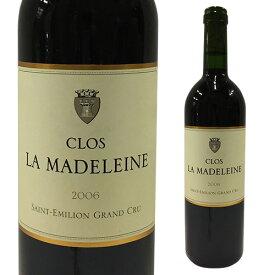 クロ ラ マドレーヌ [2006] 750ml [ボルドー][赤ワイン][サンテミリオン]