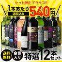 送料無料 金賞入り特選ワイン12本セット 203弾ワインセット ギフト 長S