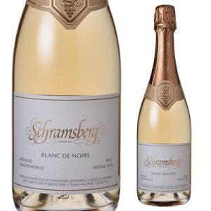 【誰でもワインP7倍 5/9 20時〜11中】シュラムスバーグ ブラン ド ノワール ノース コースト 2015 750ml アメリカ カリフォルニア 辛口 白 スパークリングワイン スパークリング 長S