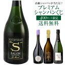 """【送料無料】高級シャンパンを探せ!第50弾!! """"トゥルベ トレゾール!""""サロンが当たるかも!? プレミアムシャンパー…"""