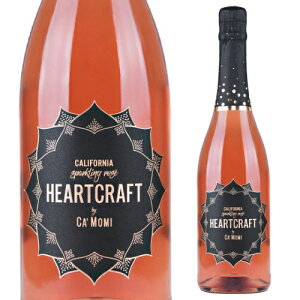 カモミハートクラフト スパークリング ロゼ NV カモミワイナリー 750ml アメリカ カリフォルニア 辛口 泡 ワイン スパークリングワイン 長S