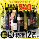 送料無料 金賞入り特選ワイン12本セット 204弾ワインセット ギフト 長S