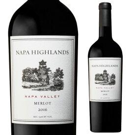ナパ ハイランズ メルロー 2016 750mlワイン 赤 ギフト プレゼント フルボディ アメリカ カリフォルニア ナパヴァレー 重口 赤ワイン 長S