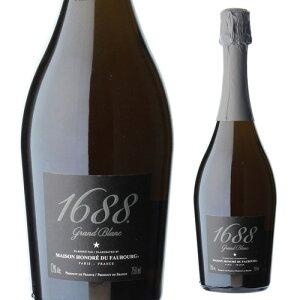 1688 グラン ブラン 高級ノンアルコール スパークリング Grand Blanc フランス産 750ml ノンアルコールワイン ノンアルコールシャンパン アルコールフリー Alc.0.00% 虎姫