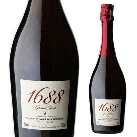 1688 グラン ロゼ 高級ノンアルコール スパークリング Grand Rose フランス産 750ml ノンアルコールワイン ノンアルコールシャンパン アルコールフリー Alc.0.00% 虎姫お中元 敬老 御中元 御中元ギフト 中元 中元ギフト