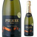 【誰でもワインP5倍 10/30限定】ピエール ゼロ ブラン ド ブラン NV 750ml ノンアルコールワイン シャンパン シャンパ…