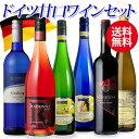 最大300円クーポン配布 送料無料 ドイツ産 やや甘口ワイン 6本セット 第9弾ワインセット ドイツワイン ギフト お歳暮 …