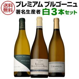 【誰でもワインP5倍 10/20限定】1本当たり2,721円(税抜) 送料無料 プレミアムブルゴーニュ著名生産者白ワイン3本セットファインズ ワインセット 白ワイン 虎姫