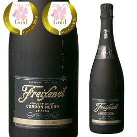 <750ml> フレシネ コルドン ネグロ ブリュット 並行品 スパークリングワイン カヴァ カバ FREIXENET CAVA 長S 【EPA発効 関税撤廃 還元】