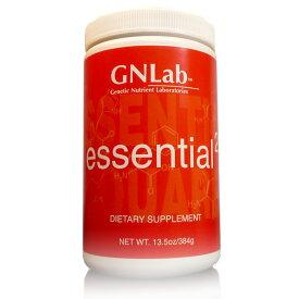 アミノ酸サプリメント プロテイン代替 プロアスリート仕様 GNLab エッセンシャルスクエア(Lボトル:384g:120食分)