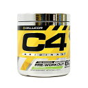 ★送料無料★C4フリーワークアウト オリジナル グリーンアップル 60サービング 390g【Cellucor】C4 Original Explosive Pre-Workout, Green Appl