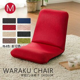 フロアチェアー座椅子「和楽チェアM」A454