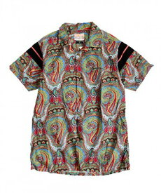ONE IN THE WORLD ワンインザワールド PAISLEY SHIRTS Men's Ladies Remake ONE SIZE