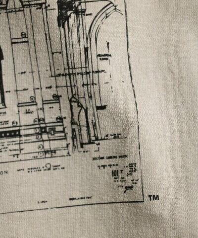 SUNNYSPORTSYALEHARKNESSTOWERSSTEEサニースポーツイェール大学半袖TシャツMLXLMEN'SLEDIESホワイトベージュ