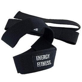 EN-FIT リストストラップ トレーニング 丈夫 使いやすい リストラップ リストストラップ フリーサイズ 2本セット 黒 ブラック リフティング ストラップ トレーニング 初心者 筋トレ 握力補助 補助 ウェイト ウェイトトレーニング 直送