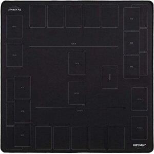 EXCITE HOBBY ポケモンカード プレイマット バトルフィールド カードゲーム 滑りにくい ラバーマット めくりやすい シンプルデザイン 60cm×60cm 直送