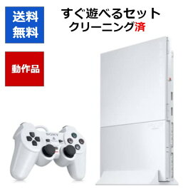 PS2 本体 PlayStation 2 プレ2 プレステ2 セラミック・ホワイト SCPH-90000 非純正メモリーカード8MB付き 【中古】