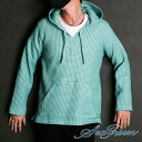 【Seagreen/シーグリーン】BIG WAFFLE Mexican Hoodie / ビッグ...