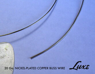 "LUXE ""Lacus"" LUXE 20 Gauge Tinned Copper Buss Wire 2 ft [product number: 1365] bus wire"