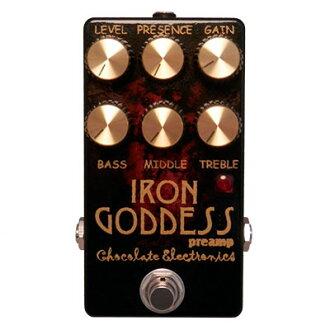 Chocolate Electronics《巧克力·電子學》Iron Goddess Preamp[商品號碼:3342]效應器(之前放大器)]