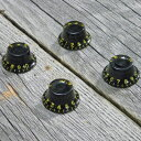 【メール便発送可!!】Montreux 《モントルー》 Top Hat knob set Black (4) ver.2 「商品番号:8705」 ノブ